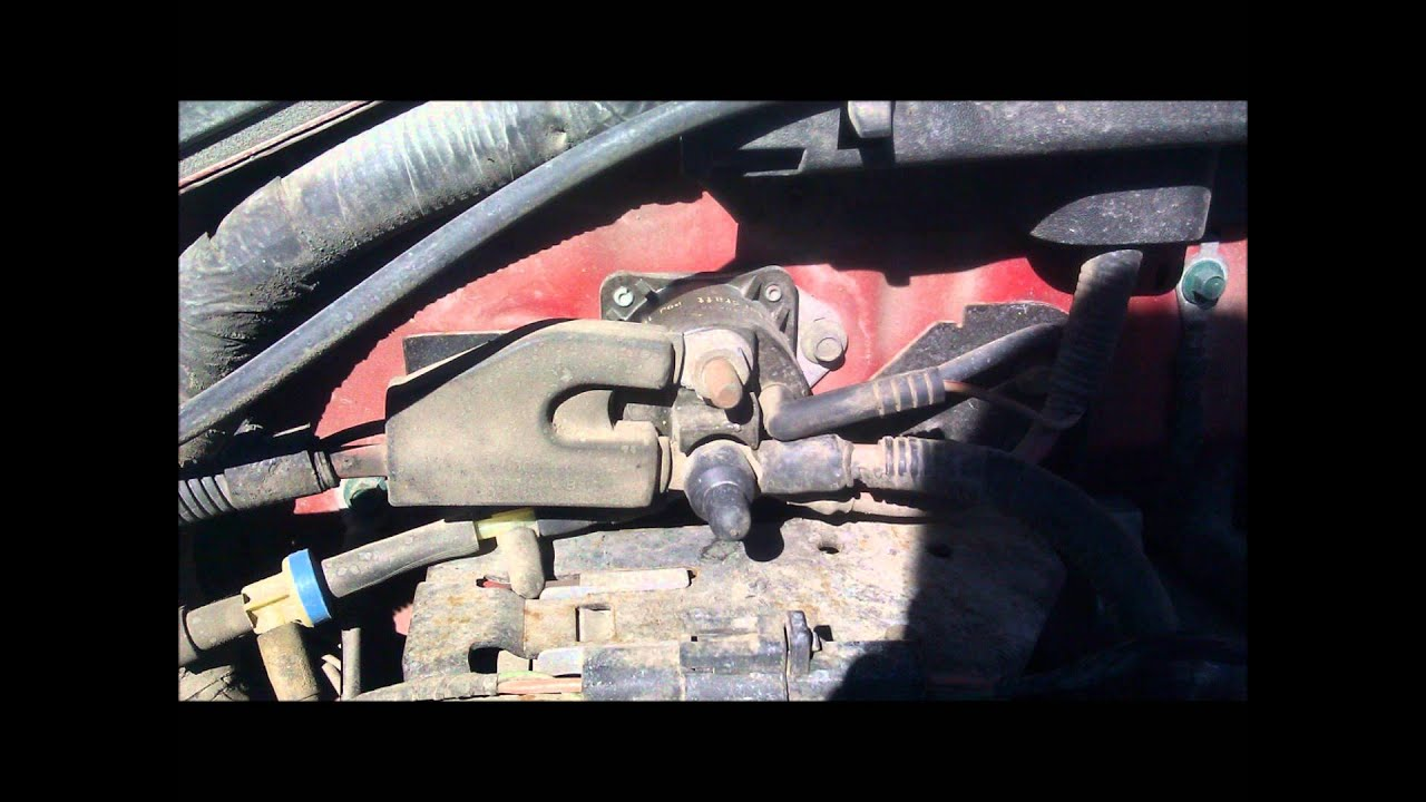 maxresdefault how to diagnose and change a bad starter youtube 2001 ford f150 starter solenoid wiring diagram at creativeand.co