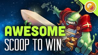 SCOOP TO WIN! Awesomenauts Gameplay Funny Moments