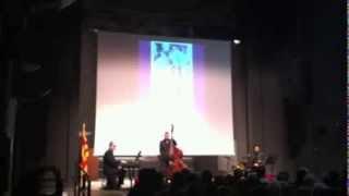 "Claude Bolling ""Jazz a la française"" Santi Escura.Jordi Cabarrocas.Rafel Rostey."