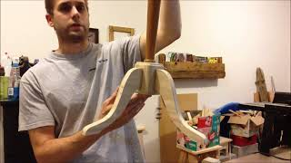 Organ Leg Coat Rack Part 6 (cmrw#6)