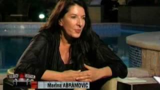 Marina Abramovic interview Atlas TV 1/2