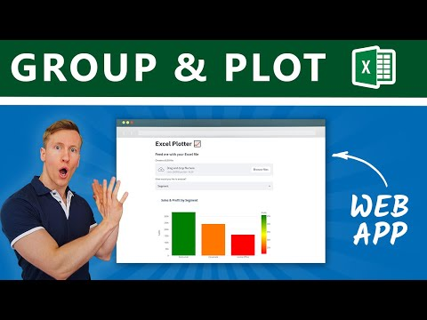 Build a Web App to Group & Plot Excel Files in Python with Streamlit