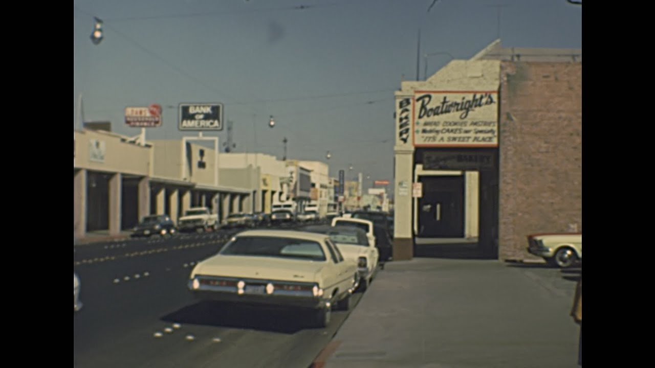 Americana 1970s: Shops Archive Footage