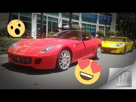 Cars and Coffee Manila 12 + Ferrari F12 TDF and BMW I8