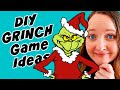 3 Grinch Christmas Party Games