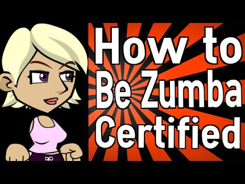 How to Be Zumba Certified - YouTube