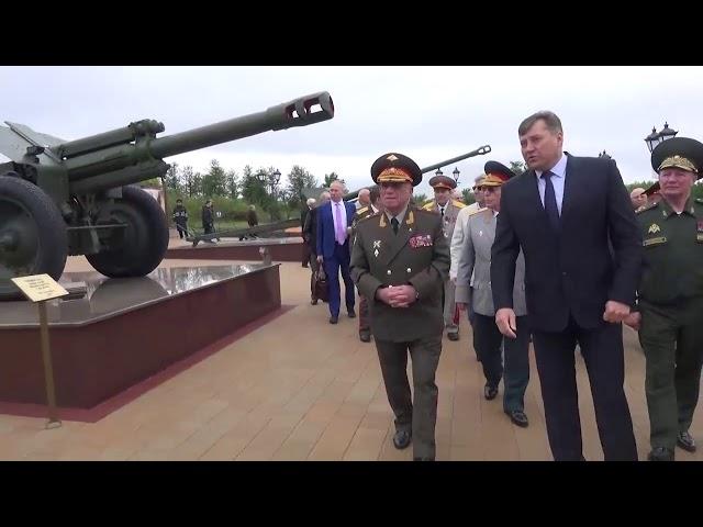 Министр и Куликов на Барбашовом поле