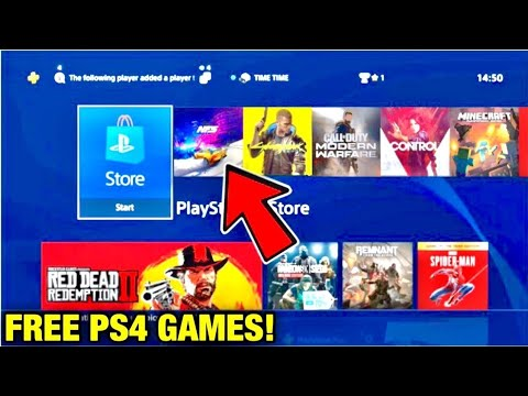 how to get any game for free on ps4 2019