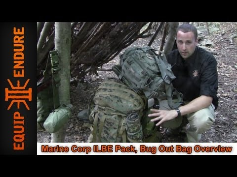 Marine Corp ILBE Pack, Bug Out Bag Overview, Equip 2 Endure