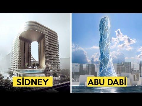 Yapılması Planlanan 10 Mühendislik Harikası Yapı