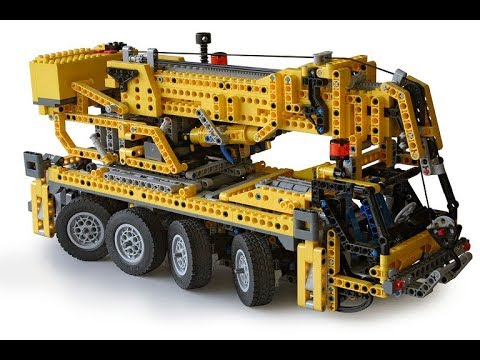 Lego Technic 8421 Mobile Crane Instructions With Part List Year