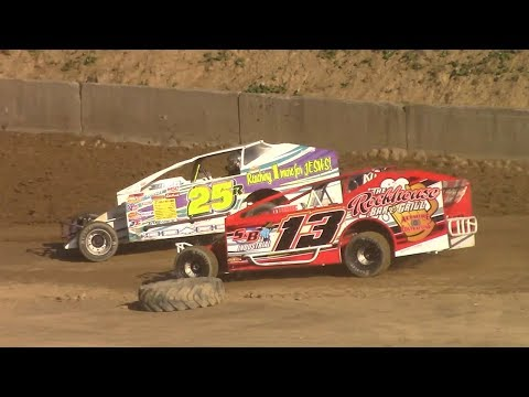 BRP Big Block Modified Heat Four | Old Bradford Speedway | 6-11-17