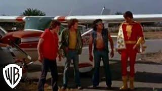 Shazam! Captain Marvel Stops a Plane