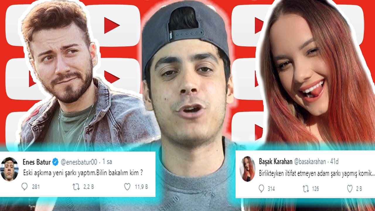 Basak Karahan In Yeni Sevgilisi Ve Enes Batur Un Tepkisi Youtube