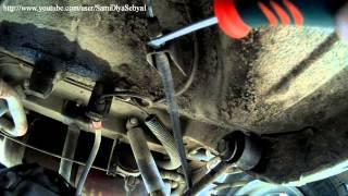 видео Проверка работоспособности ручника на всех автомобилях ВАЗ