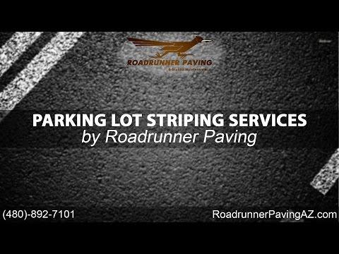 Parking Lot Stripe Services   Roadrunner Paving & Asphalt Maintenance