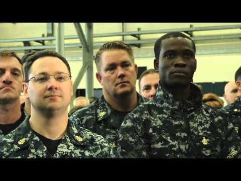 Chief of Naval Operations Admiral John Richardson visits Naples, Italy.