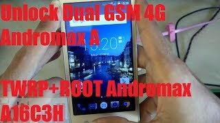 Install TWRP + Unlock Dual GSM Andromax A
