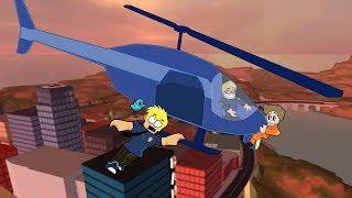 Crazy poliziotti primo giorno in Roblox / Jailbreak / Chad giocatore gioca