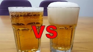 Beer Head Nucleation | Laser Etching Glass