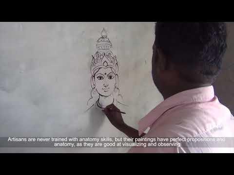 Traditional Painting - Madurai, Tamil Nadu