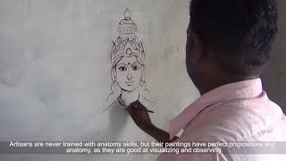 Traditional Painting - Madurai, Tamil Nadu