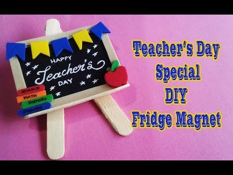 TEACHERS DAY SPECIAL II DIY FRIDGE MAGNET II GIFTING IDEAS