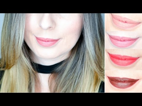 Liquid lipstick matte red