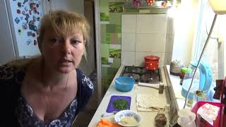 вкусный завтрак, беляши из лаваша, теперь так буду готовить точно, Шаповаловы влог, кухня