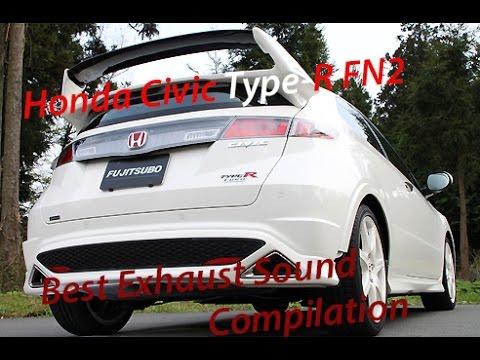 honda civic fn2 type r best exhaust sound compilation. Black Bedroom Furniture Sets. Home Design Ideas