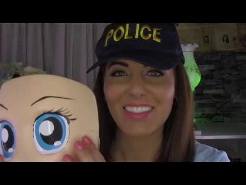 ASMR - POLICEGIRL takes GOOD care of YOU! | Binaural FUN