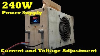 250W Power Supply With Current and Voltage Adjustment SMPS