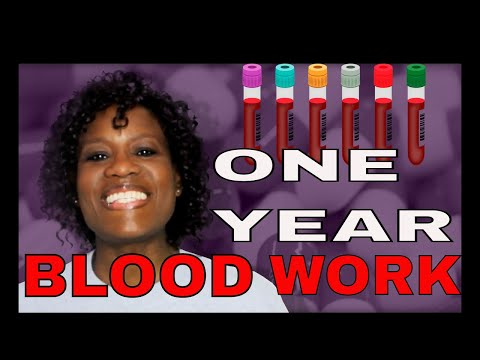 My Life as a Kidney Donor: One Year Blood Work (2018)✔