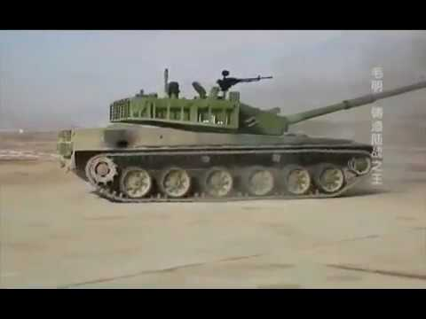 The Most Powerful Chinese Tank ZTZ 99A Type 99A