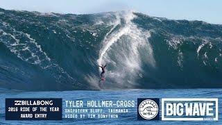 Tyler Hollmer-Cross at Shipsterns  - 2016 Billabong Ride of the Year Entry - WSL Big Wave Awards