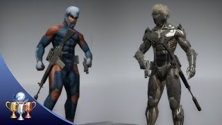 Metal Gear Solid V The Phantom Pain - How to Unlock Raiden and Cyborg Ninja Uniform Skins