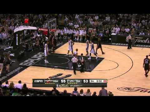 Lebron James & Dwyane Wade destroy San Antonio Spurs (NBA Finals 2013.Game 4)