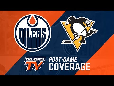 ARCHIVE | Post-Game Coverage - Oilers vs. Penguins