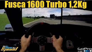 🔴► Fusca 1600 Turbo 1,2Kg Pressão - Racha Insano - Pov GoPro - ft. Getaway