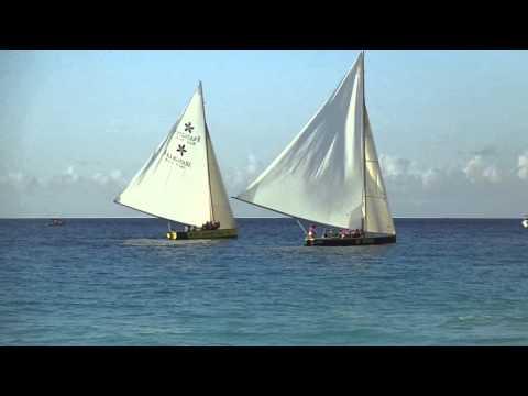 Anguilla Boatracing, Solaire - Meads Bay, March 24, 2013 - De Wizard & De Tree