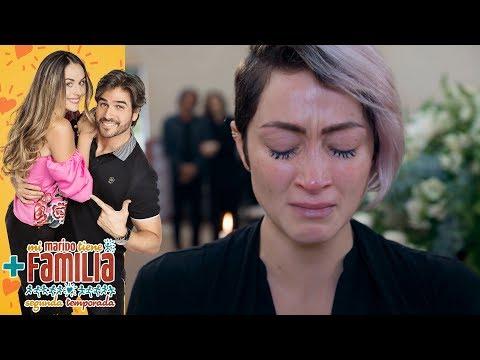 Daniela sospecha que mataron a Gabriel | Mi marido tiene más familia | Televisa