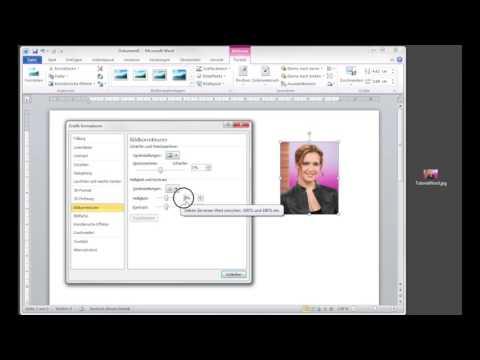 Microsoft Word, Bild Einfügen, Plazieren Und Formatieren