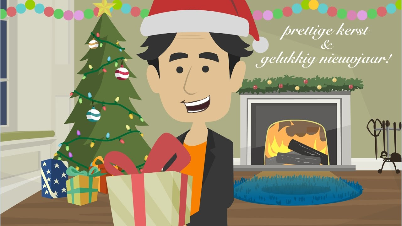 Merry Christmas In Dutch.Merry Christmas And Happy New Year In Dutch Prettige Kerst En Gelukkig Nieuwjaar