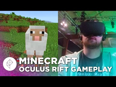 Minecraft on the Oculus Rift could be better