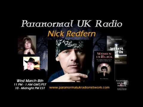 Paranormal UK Radio Show talk to Nick Redfern