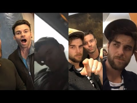 The Originals Cast Funny Moments  Daniel Gillies, Nate Buzolic, Riley Voelkel