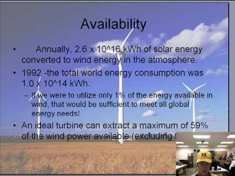 Wind Energy Presentation Youtube