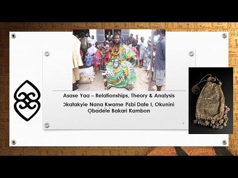 Video Recording + Slides! Asase Yaa (The Earth) – [Healing] Relationships, Theory & Analysis