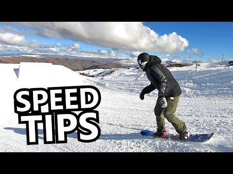 Tips For Snowboarding With SPEED