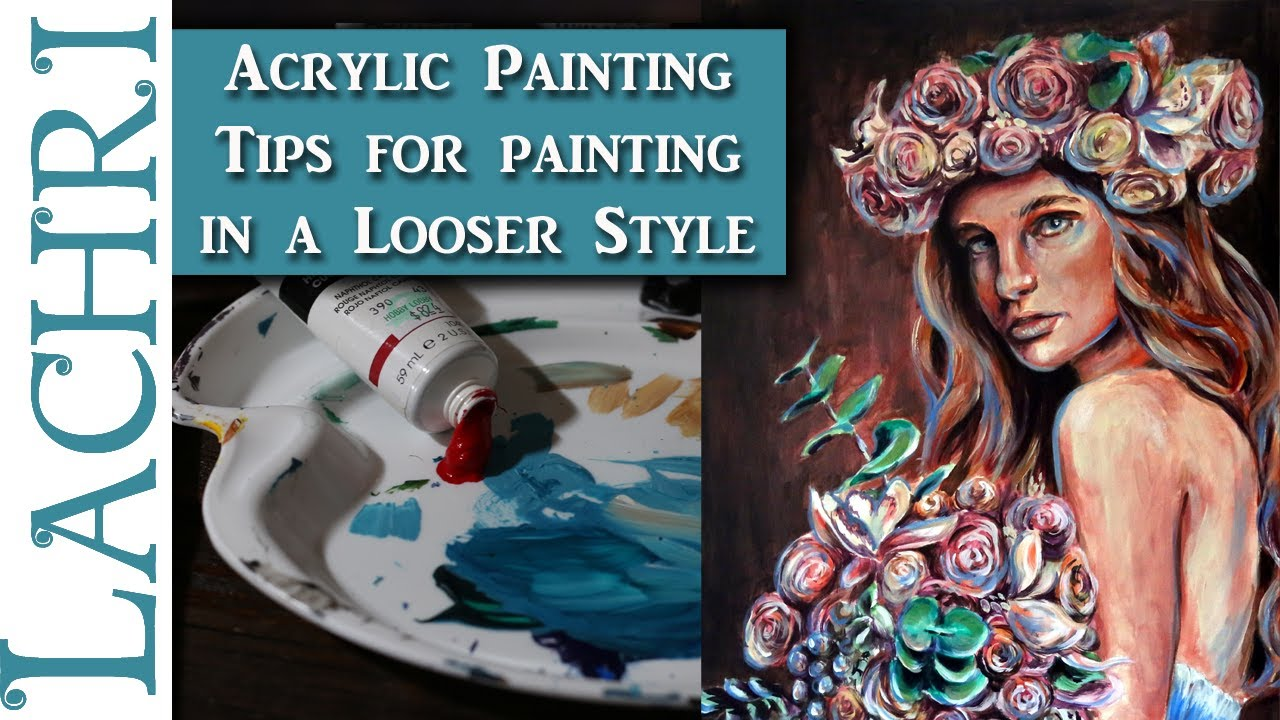 tips for acrylic portrait painting